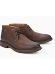 Dark Brown Nubuck Shock Absorber Ankle Boot | Mephisto New Arrivals | Sam's Tailoring Fine Men Clothing