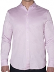 Robert talbott Travis Solid Pink Tailored Fit Knit Shirt LK240-03| Sam's Tailoring Fine Men's Clothing