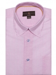 Robert Talbott Pink And White Stripe Classic Fit Sports Shirt LUM18041-01|Sam's Tailoring Fine Men's Clothing
