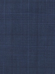 Paul Betenly Blue Thomas/Florence SB-2 F-F 100% Wool Paid Pattern Suit 8T0024|Sam's Tailoring Fine Men's Clothing