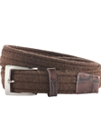 Chocolate Stretch And Embossed Crocodile Belt | Bobby Jones Fall Collection | Sam's Tailoring Fine Men Clothing