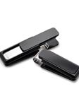 Black M-Clip Ultralight Solid Money Clip | Bobby Jones Fall Collection | Sam's Tailoring Fine Men Clothing