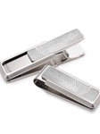 M-Clip Stainless Steel Etched Chevron Money Clip | Bobby Jones Fall Collection | Sam's Tailoring Fine Men Clothing