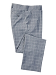 Charcoal Heather Melange Grid Tech Pant | Bobby Jones Fall Collection | Sam's Tailoring Fine Men Clothing