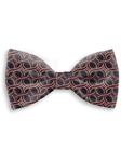 Navy and Red Sartorial Handmade Silk Bow Tie | Bow Ties Collection | Sam's Tailoring Fine Men Clothing