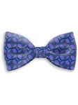 Violet, Black & Blue Sartorial Handmade Silk Bow Tie | Bow Ties Collection | Sam's Tailoring Fine Men Clothing