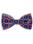 Red, Blue and Navy Sartorial Handmade Silk Bow Tie | Bow Ties Collection | Sam's Tailoring Fine Men Clothing