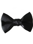 Black Silk Sartorial Handmade Bow Tie | Bow Ties Collection | Sam's Tailoring Fine Men Clothing