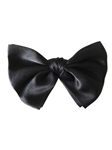 Black Sartorial Fine Silk Handmade Bow Tie | Bow Ties Collection | Sam's Tailoring Fine Men Clothing