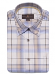 Cedar, Multicolor Plaid Anderson II Classic Sport Shirt | Classic Sport Shirts Collection | Sams Tailoring Fine Men Clothing