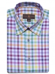 Multicolor Plaid Anderson II Classic Fit Sport Shirt | Classic Sport Shirts Collection | Sams Tailoring Fine Men Clothing