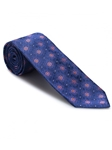 Navy Medallion Ambassador Estate Tie | Robert Talbott Estate Ties Collection | Sam's Tailoring Fine Men Clothing