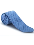 Blue and Lavender Ambassador Print Estate Tie | Robert Talbott Estate Ties Collection | Sam's Tailoring Fine Men Clothing