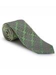 Green, Blue & Pink Paisley Best of Class Tie | Best of Class Collection | Sam's Tailoring Fine Men's Clothing