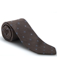 Brown, Sky and White Best of Class Tie | Best of Class Collection | Sam's Tailoring Fine Men's Clothing