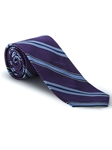Black, Violet, White & Sky Best of Class Tie | Best of Class Collection | Sam's Tailoring Fine Men's Clothing