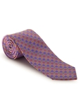 Lavender With Multi Colored Best of Class XL Tie | Robert Talbott XL Spring Collection | Sam's Tailoring Fine Men Clothing