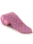 Sky, White & Yellow Floral Best of Class XL Tie  | Robert Talbott XL Spring Collection | Sam's Tailoring Fine Men Clothing