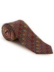Orange, Yellow & Red Floral Best of Class XL Tie | Robert Talbott XL Spring Collection | Sam's Tailoring Fine Men Clothing
