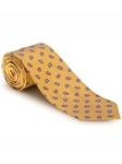 Yellow With White Stripe Best of Class XL Tie | Robert Talbott XL Spring Collection | Sam's Tailoring Fine Men Clothing