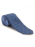 Blue, Sky, Grey & Yellow Best of Class XL Tie | Robert Talbott XL Spring Collection | Sam's Tailoring Fine Men Clothing