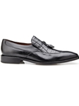 Black Genuine Alligator & Italian Calf Bosco Shoe | Belvedere Shoes Spring Collection | Sams Tailoring Fine Men Clothing