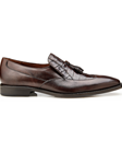 Tobacco Genuine Alligator & Italian Calf Bosco Shoe | Belvedere Shoes Spring Collection | Sams Tailoring Fine Men Clothing