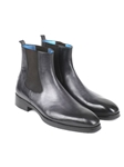Black & Grey Chelsea Fine Men's Boot | Fine Men Spring Boots | Sam's Tailoring Fine Men Clothing