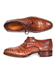 Genuine Crocodile Goodyea Welted Derby Shoe | Fine Men Derby Shoes | Sam's Tailoring Fine Men Clothing