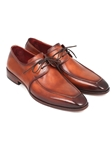 Brown Leather Apron Derby Men's Shoe| Fine Men Derby Shoes | Sam's Tailoring Fine Men Clothing