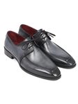 Gray & Black Apron Derby Men's Shoe| Fine Men Derby Shoes | Sam's Tailoring Fine Men Clothing