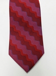 Red, Blue and Wine Silk Tie | Jane Barnes Silk Ties | Sam's Tailoring Fine Men's Clothing