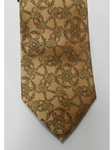 Gold With Wine & Green Paisley Silk Tie | Jane Barnes Silk Ties | Sam's Tailoring Fine Men's Clothing