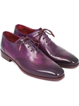 Purple Wingtip Handmade Men's Oxford | Men's Oxford Shoes Collection | Sam's Tailoring Fine Men Clothing