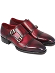 Triple Leather Sole Hand Welted Monkstraps Shoe | Handmade Monk Straps Shoes | Sam's Tailoring Fine Men Clothing