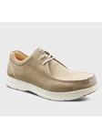 Sand Suede With White Sole Men's Casual Shoe | Men's Spring Casual Shoes | Sam's Tailoring Fine Men Clothing