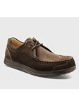 Brown Suede With Brown Sole Men's Casual Shoe | Men's Spring Casual Shoes | Sam's Tailoring Fine Men Clothing