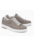 Warm Grey Leather Lining Suede Men's Sneaker | Mephisto Oxfords Shoes Collection | Sam's Tailoring Fine Men ClothingΩ
