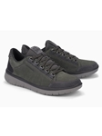 Grey Mesh Lining Nubuck Men's Lace-Up Shoe | Mephisto Men's Allrounder Shoes | Sams Tailoring Fine Men Clothing