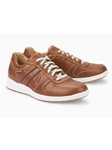 Hazelnut Smooth Leather Men's Suede Sneaker | Mephisto Men's Sneakers | Sams Tailoring Fine Men Clothing