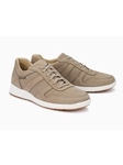 Sand Leather Lining Men's Nubuck Sneaker | Mephisto Men's Sneakers | Sams Tailoring Fine Men Clothing