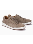 Taupe Textile/Leather Lining Men's Suede Sneaker | Mephisto Men's Sneakers | Sams Tailoring Fine Men Clothing