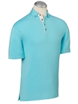 Serenity EFX Cotton Stretch Blend Solid Polo Shirt | Bobby Jones Polos Collection | Sam's Tailoring Fine Men Clothing
