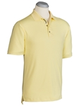 Canary Supreme Cotton Short Sleeve Polo Shirt | Bobby Jones Polos Collection | Sam's Tailoring Fine Men Clothing