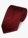 Burgundy Diagonal Woven Twill Silk Tie | Fine Ties Collection | Sam's Tailoring Fine Men Clothing