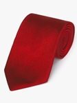 Red Diagonal Woven Twill Silk Tie | Fine Ties Collection | Sam's Tailoring Fine Men Clothing