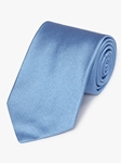 Blue Diagonal Woven Twill Silk Tie | Fine Ties Collection | Sam's Tailoring Fine Men Clothing