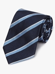 Navy & Sky Old Latymerians Regimental Tie | Fine Ties Collection | Sam's Tailoring Fine Men Clothing