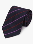 Lensburry Rugger Club Regimental Silk Tie | Fine Ties Collection | Sam's Tailoring Fine Men Clothing