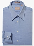 Blue Point Collar Pinpoint Oxford Big & Tall Shirt | Big & Tall Shirts Collection | Fine Men Clothing
